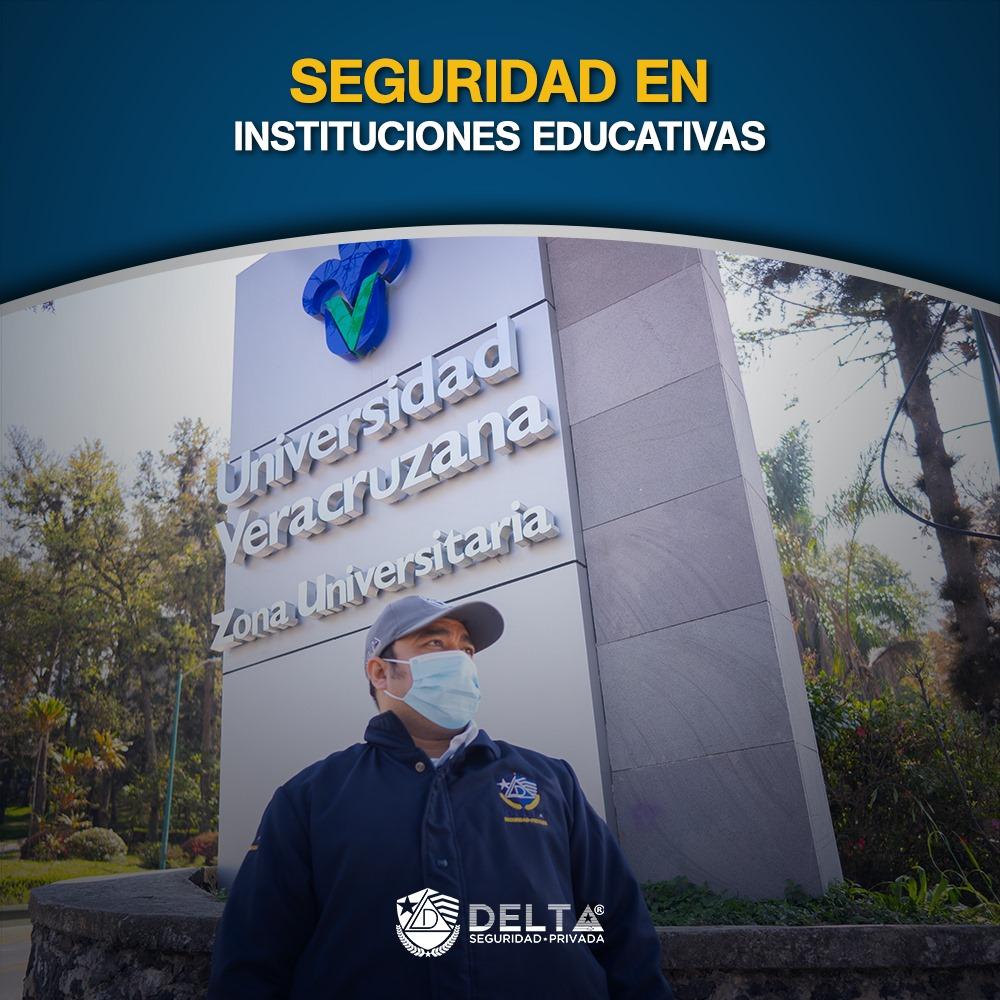 La Universidad Veracruzana confía en Delta Seguridad Privada®️