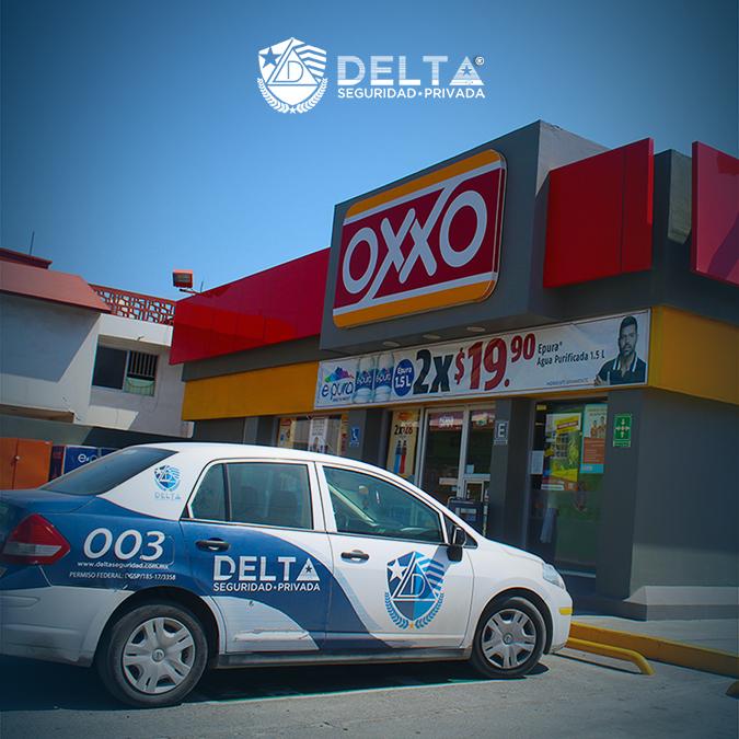 OXXO también confía en Delta Seguridad Privada®️